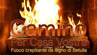 Camino per casa vostra - Fuoco crepitante da legno di betulla (2015)
